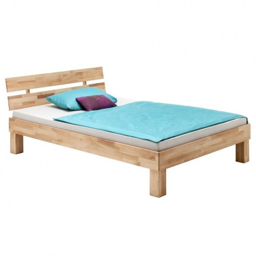 Holzbett Lara Buche Geölt 120 X 200 Cm  Real von Bett 120X200 Holz Bild