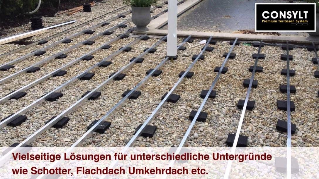 Holzterrasse Selber Bauen Unterkonstruktion Verlegen Und von Terrasse Selber Bauen Unterkonstruktion Photo