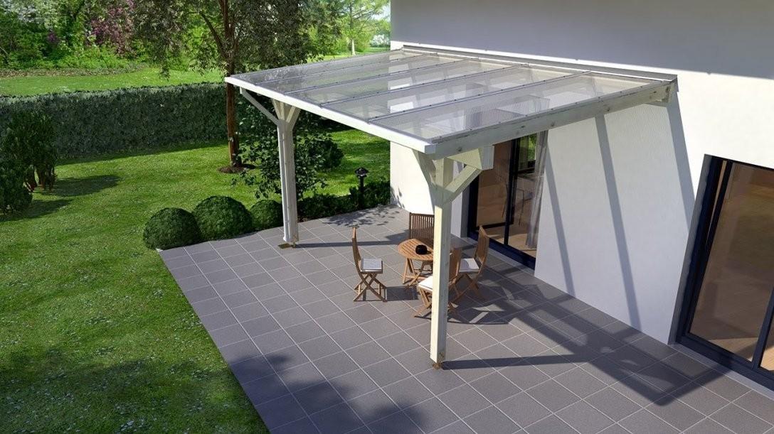 Holzterrassenüberdachung Selber Bauen (Rexocomplete)  Youtube von Überdachung Terrasse Selber Bauen Bild