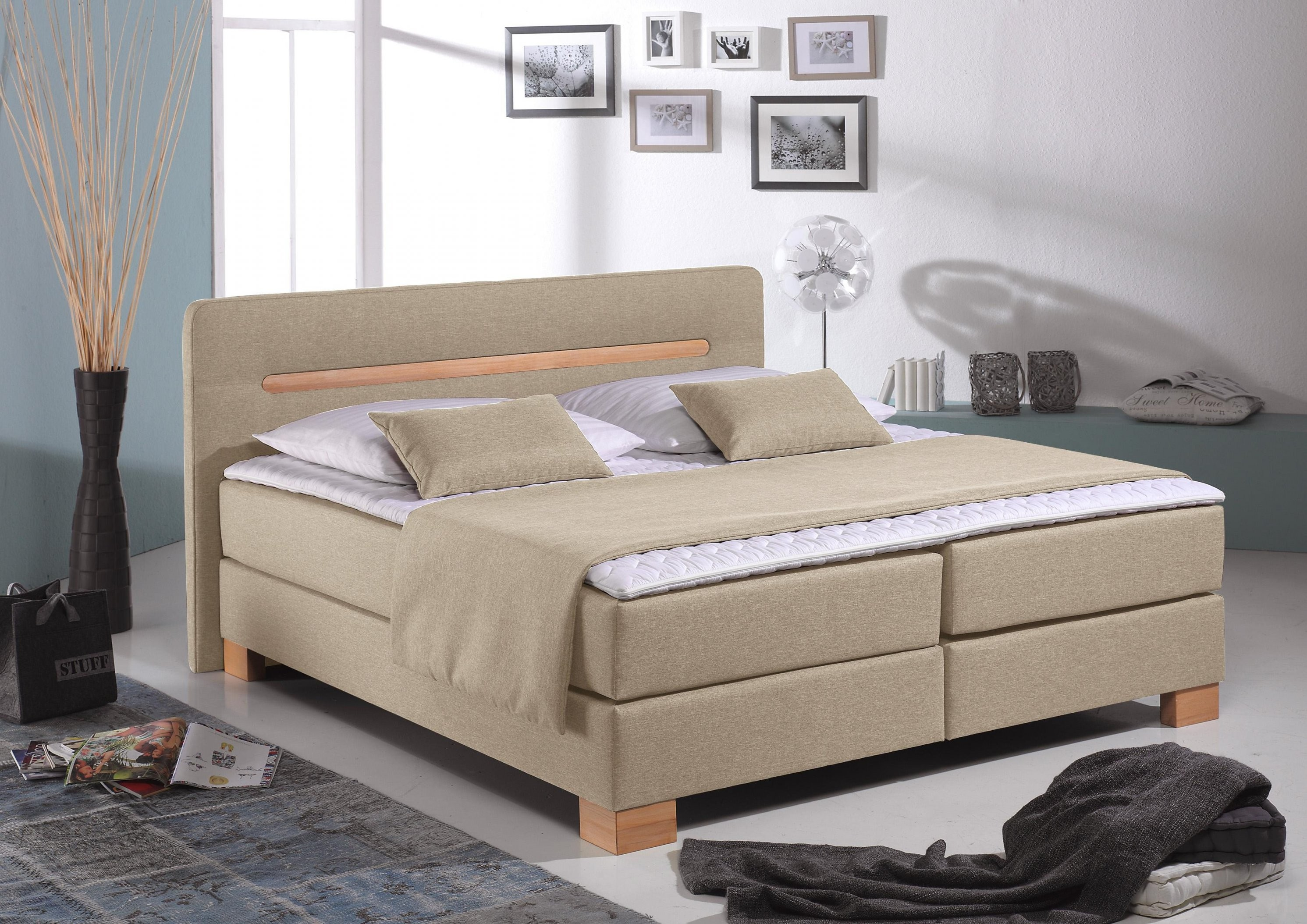 Home Affaire Boxspringbett Home Affaire Boxspringbett Romantica von Boxspring Bett Home Affaire Romantica Bild