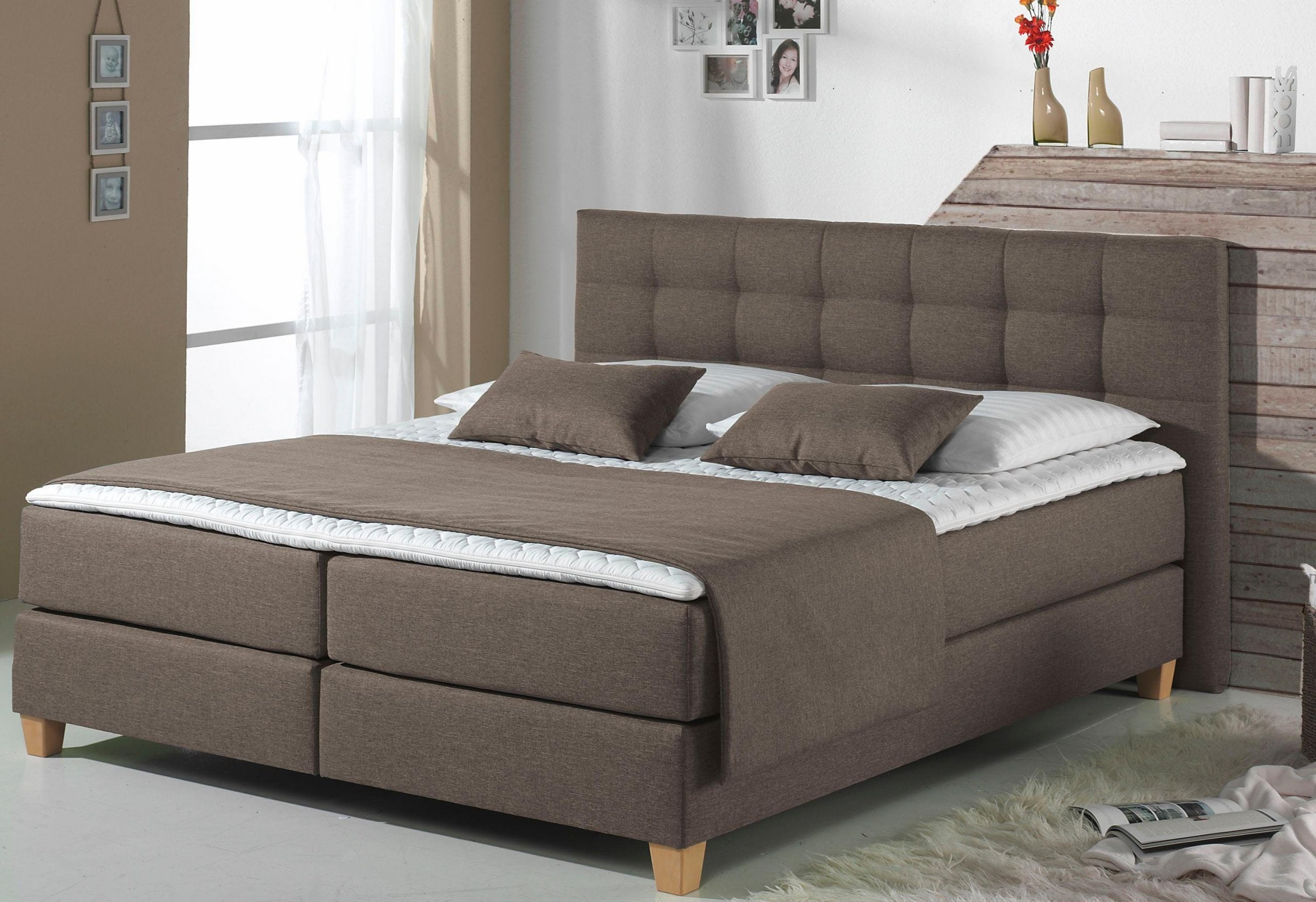 Home Affaire Boxspringbett Tommy Inkl Kaltschaumtopper 5 Breiten von Boxspring Bett Home Affaire Bild