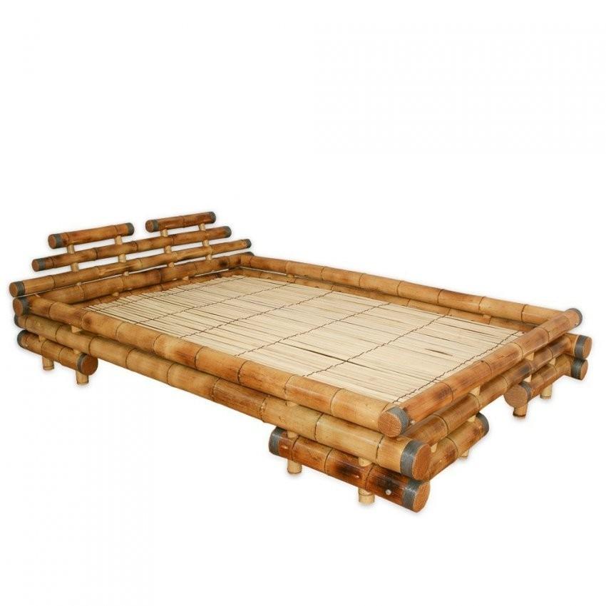 Homestyle4U Bambusbett Futonbett Bambus Bett 140 X 200 Cm In Braun von Bettgestell 140X200 Günstig Bild
