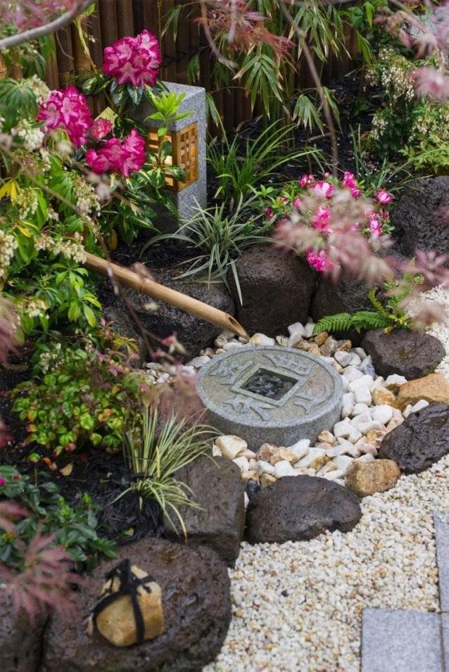 Ideen Deko Kleiner Japanischer Garten Brunnen Steine Garden Ideas von Kleiner Japanischer Garten Bild