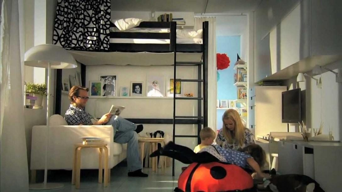 Ikea Für Kleine Räume Clevere Ideen Für Mehr Platz  Youtube von Einrichtung Für Kleine Räume Bild