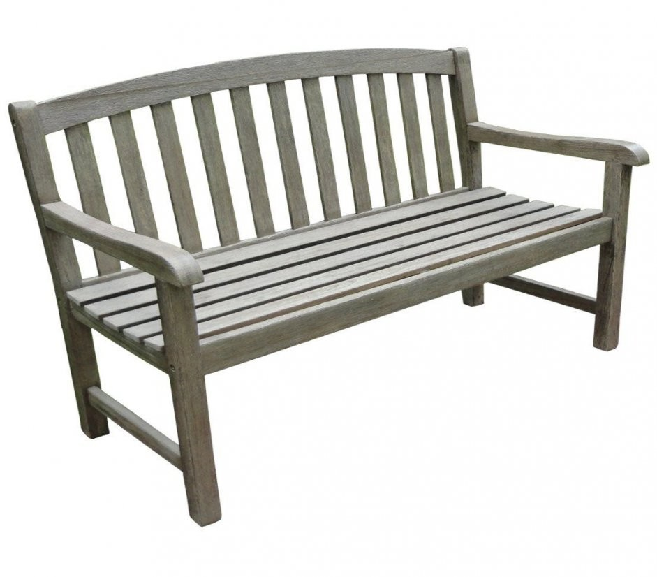 Ikea Gartenbank Grau 3 Sitzer Akazienholz Antikgrou  Gartenbank von Ikea Holzbank Garten Bild
