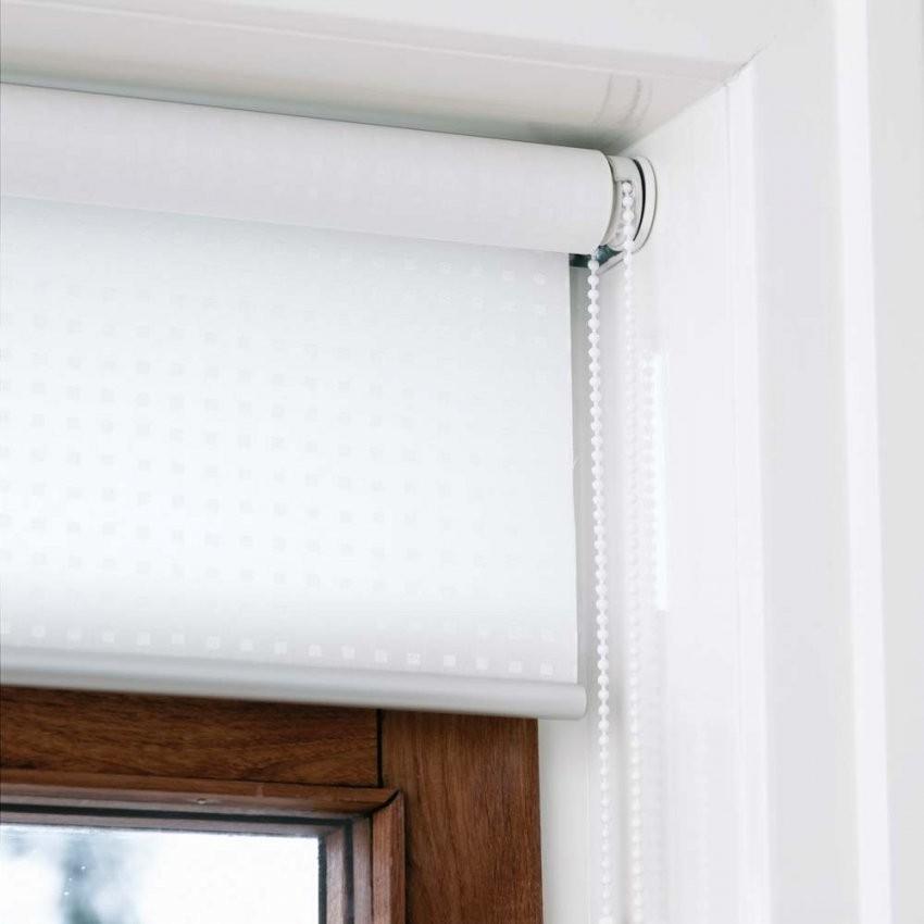 Innenrollos Am Fenster  Hochreflektierend  Vom Hersteller Rollos von Fenster Jalousien Innen Fensterrahmen Photo