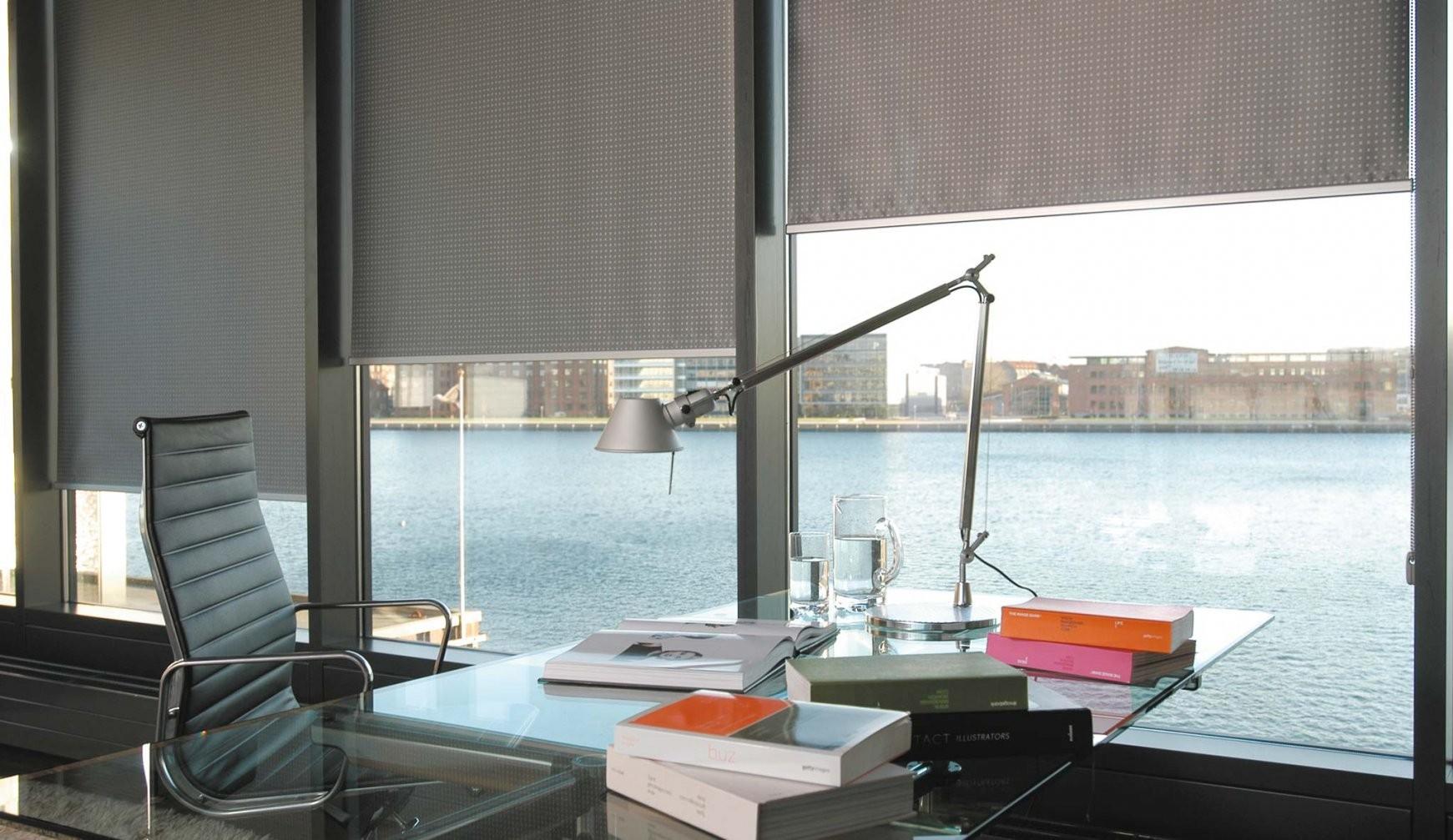 Innenrollos Am Fenster  Hochreflektierend  Vom Hersteller Rollos von Rollos Für Große Fenster Bild