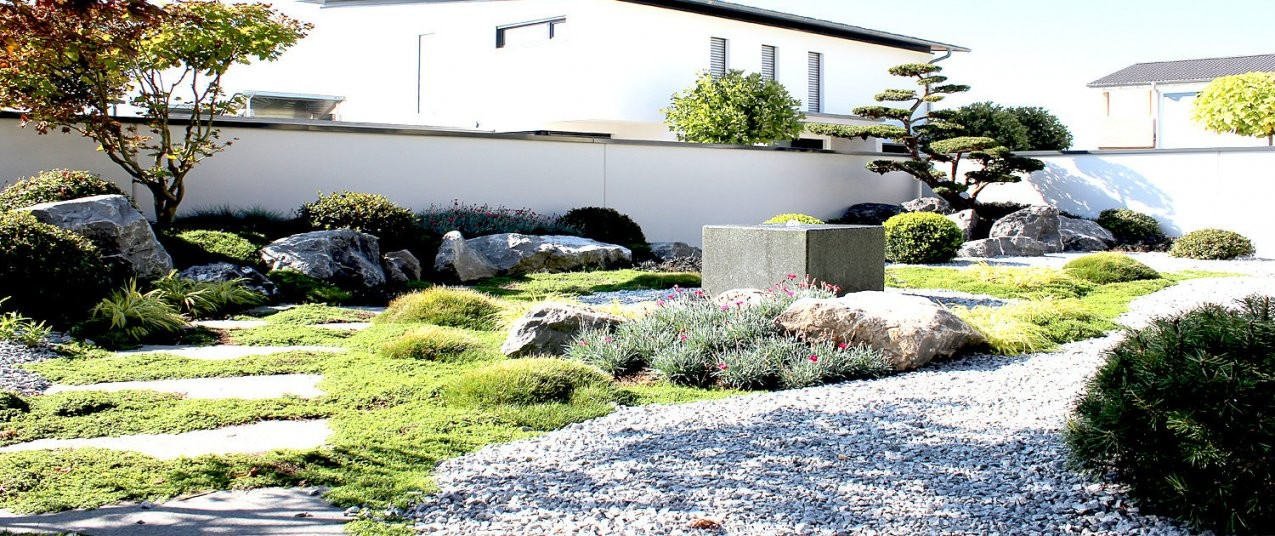 Japanischen Garten Anlegen Pflegen Und Gestalten  Luxurytrees® von Japanischer Garten Gestaltungsideen Photo