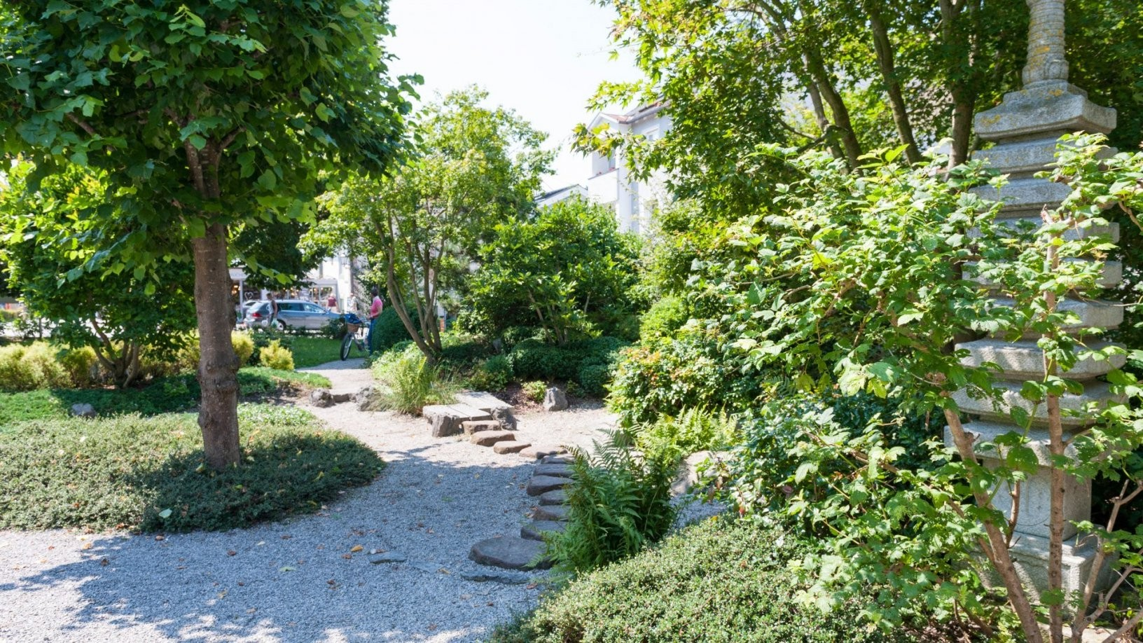 Japanischer Garten  Japanischer Garten  Sehenswertes von Kleiner Japanischer Garten Photo