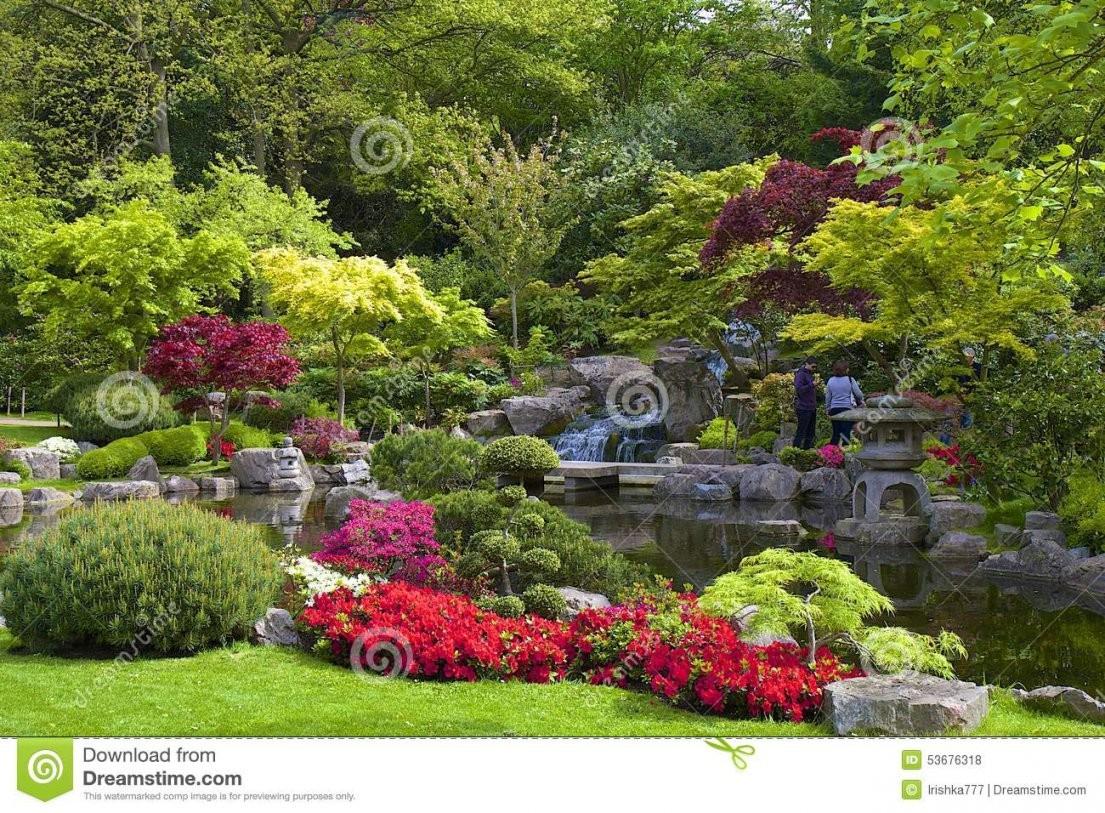 Japanischer Garten London Redaktionelles Stockfoto Bild Von Teich von Japanischer Garten Bilder Kostenlos Photo