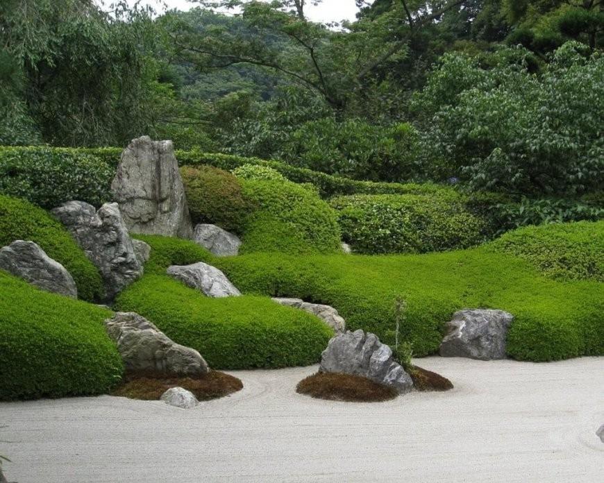 Japanischer Garten & Zengarten Anlegen  Bilder & Tipps von Pflanzen Japanischer Garten Anlegen Bild