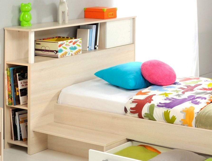 Jugendbett Chiron 19 Akazie Nb 90X200 Regal Jugendzimmer Bettkasten von Jugendzimmer Bett Mit Bettkasten Bild