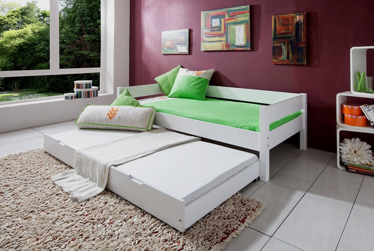 Jugendbett Mit Bettkasten  Schubladen Günstig Online Kaufen  Real von Bett 90X190 Mit Bettkasten Bild