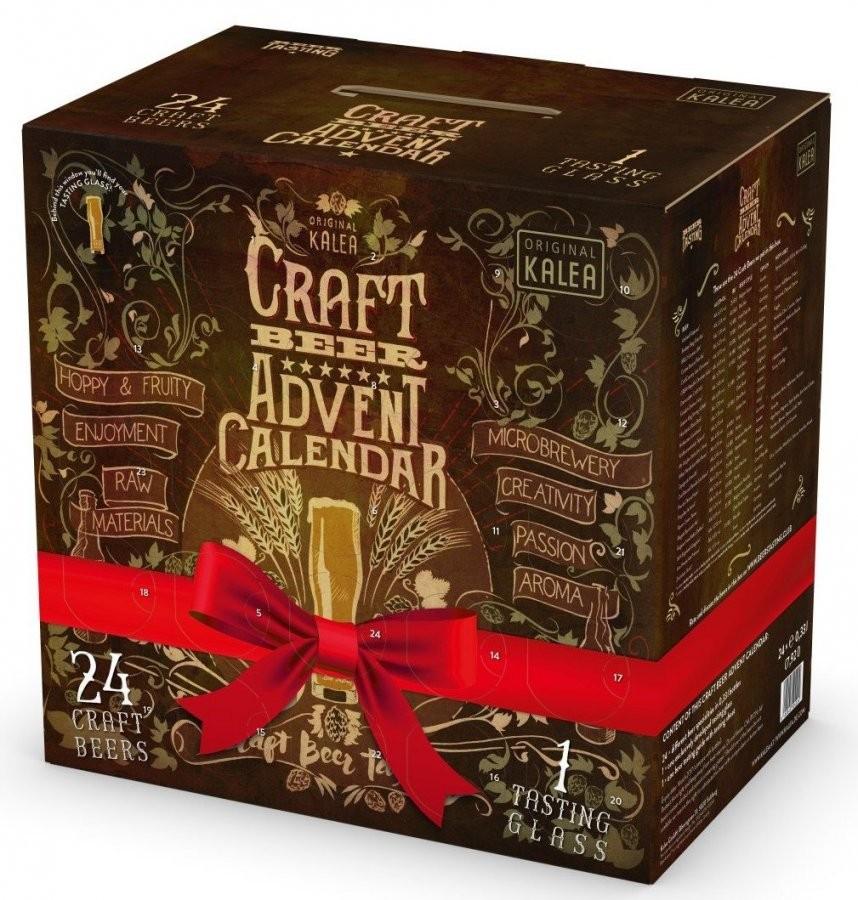 Kalea Craft Beer Adventskalender (24 X 033 L)  Dein Adventskalender von Bier Adventskalender Selber Machen Bild