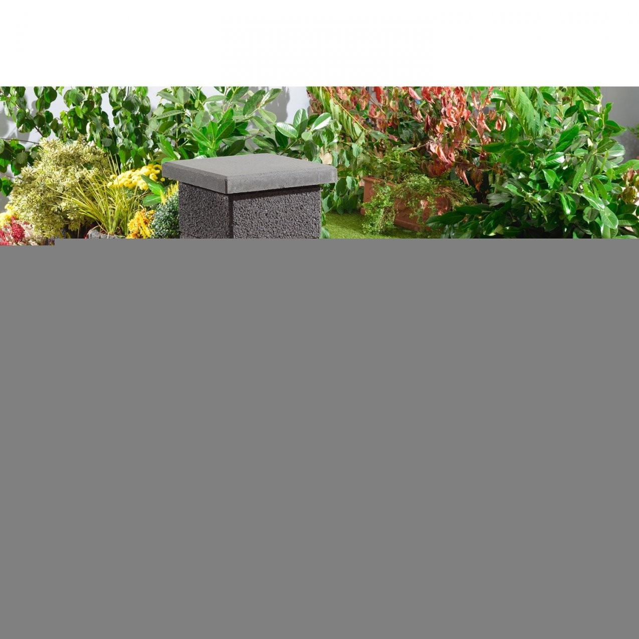 Kann Gartenmauer Normalstein Anthrazit 50 Cm X 20 Cm X 25 Cm Kaufen von Garten Steine Obi Bild