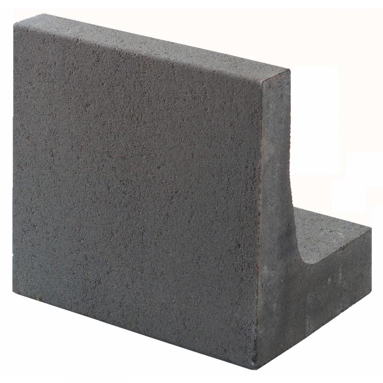 Kann Winkelstein Grau H 40 Cm X B 40 Cm X T 30 Cm Kaufen Bei Obi von Obi Garten Steine Bild