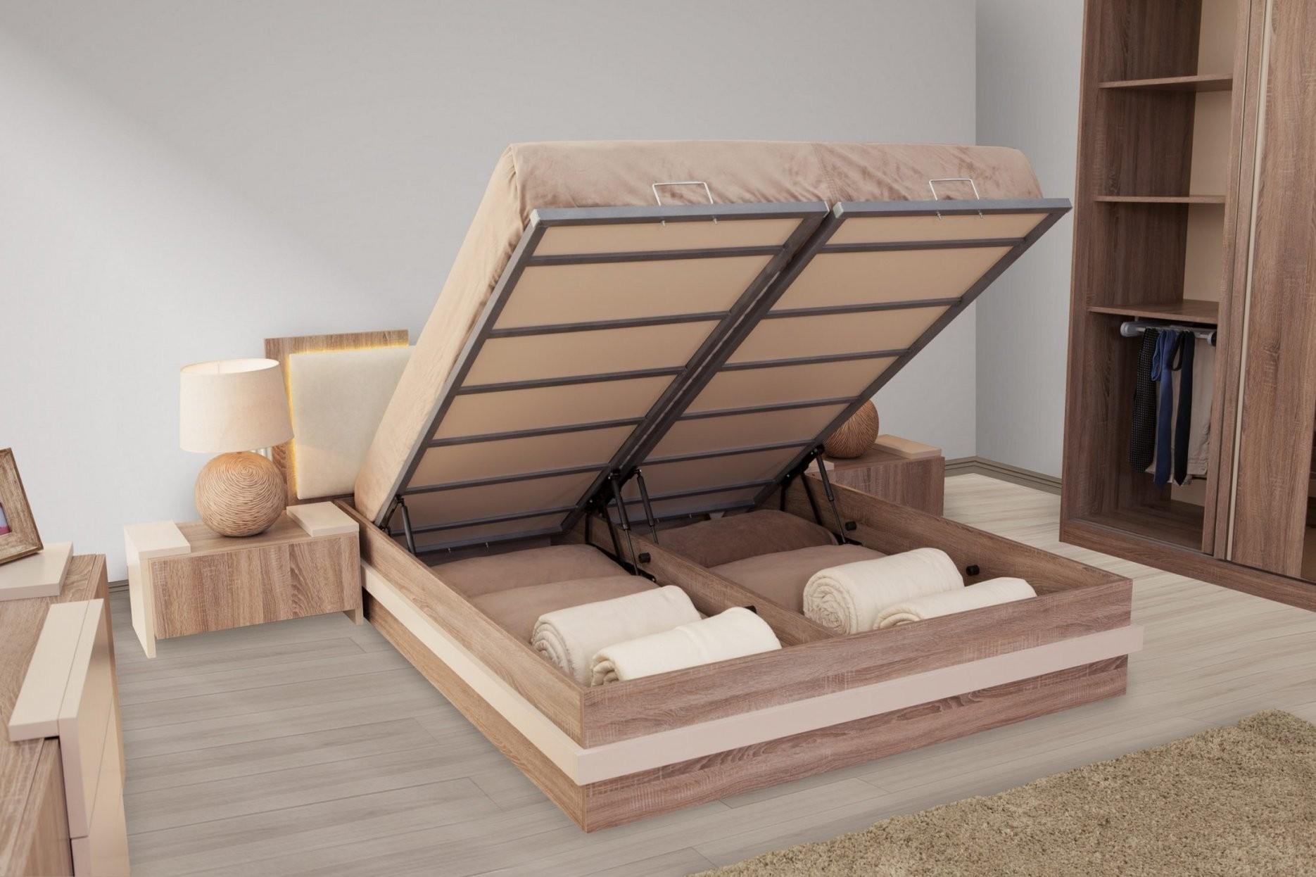 Kappa Bett Mit Stauraum 160 X 200 Cm  Möbel Harmonia Gmbh  Swiss von Bett Mit Stauraum 160X200 Bild