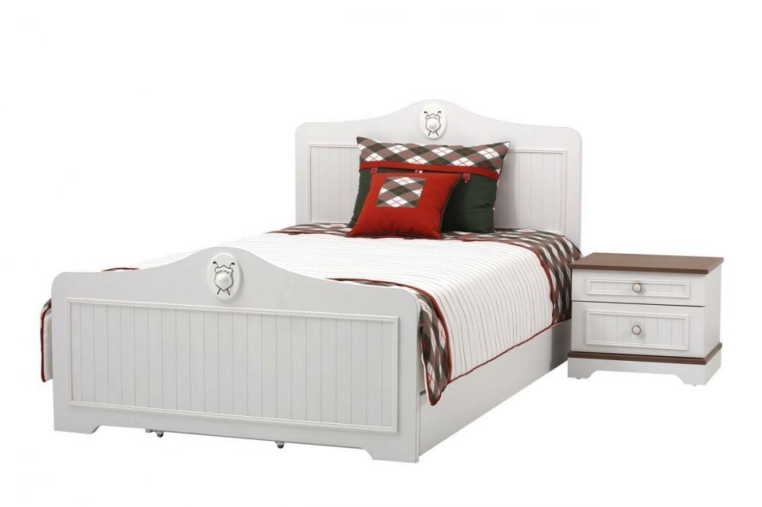 Kinderbett 120X200 Bett Kinderzimmer Weiß Braun Jungen Mädchen Golf von Mädchen Bett 120X200 Bild