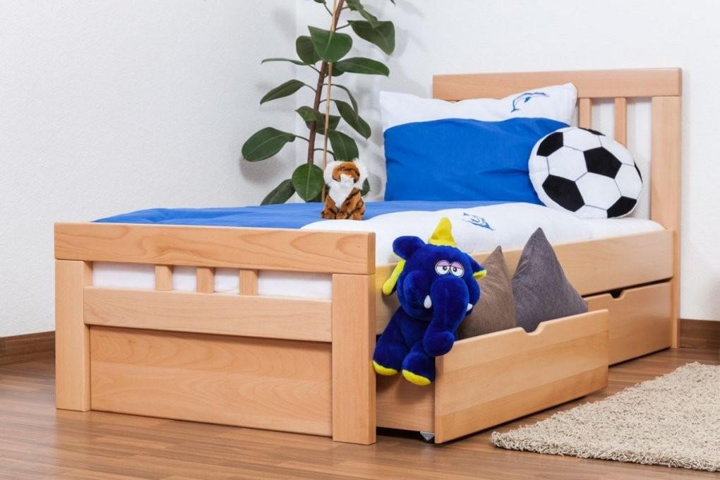 """Kinderbett  Jugendbett """"easy Möbel"""" K8 Inkl 2 Schubladen Und 1 von Bett 90X200 Mit Schubladen Bild"""