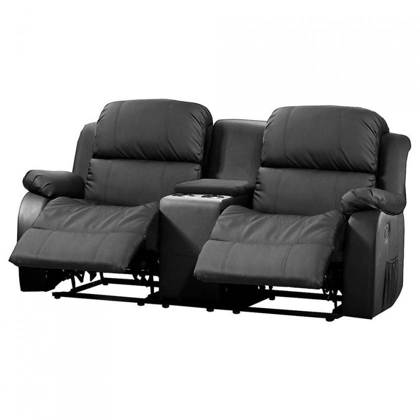 Kinosofa Lakos Sofa 2Sitzer Schwarz Mit Relaxfunktion Und von Kino Sofa 2 Sitzer Photo