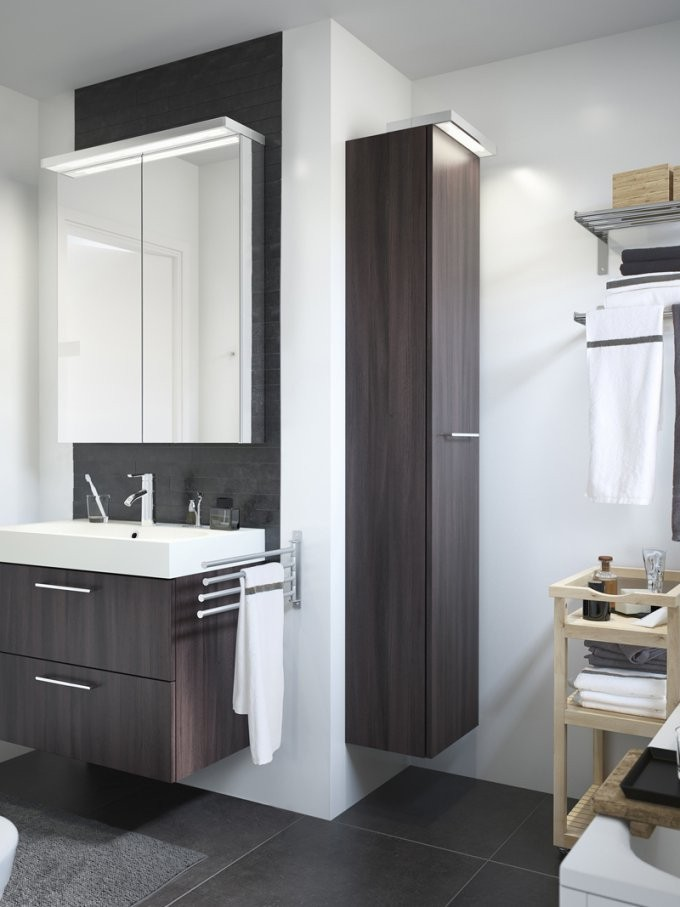 Kleine Bäder Gestalten ▷ Tipps & Tricks Für's Kleine Bad  Bauen von Waschbecken Für Kleine Bäder Photo