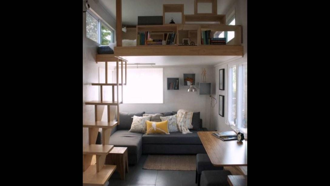 Kleine Räume Einrichten Funktionale Möbel Verwenden  Youtube von Einrichtung Für Kleine Räume Bild