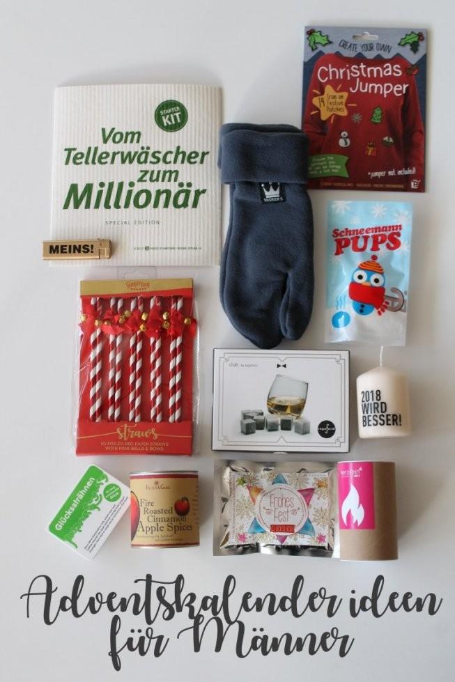 Kleines Freudenhaus Diy Die Adventskalendertüte Und von Adventskalender Für Männer Selber Machen Photo