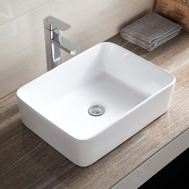 Kleines Waschbecken Ohne Hahnloch Mit Unterschrank Von Nach Innen von Kleines Waschbecken Ohne Hahnloch Bild