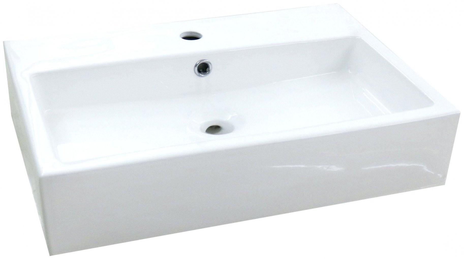Kleines Waschbecken Ohne Hahnloch Mit Unterschrank Von Nach Innen von Kleines Waschbecken Ohne Hahnloch Photo