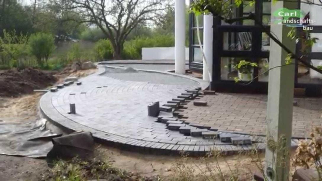 Klinkerterrasse 2Farbig Herstellen  Anleitung+Tipps Zum Selber von Steine Im Garten Verlegen Bild