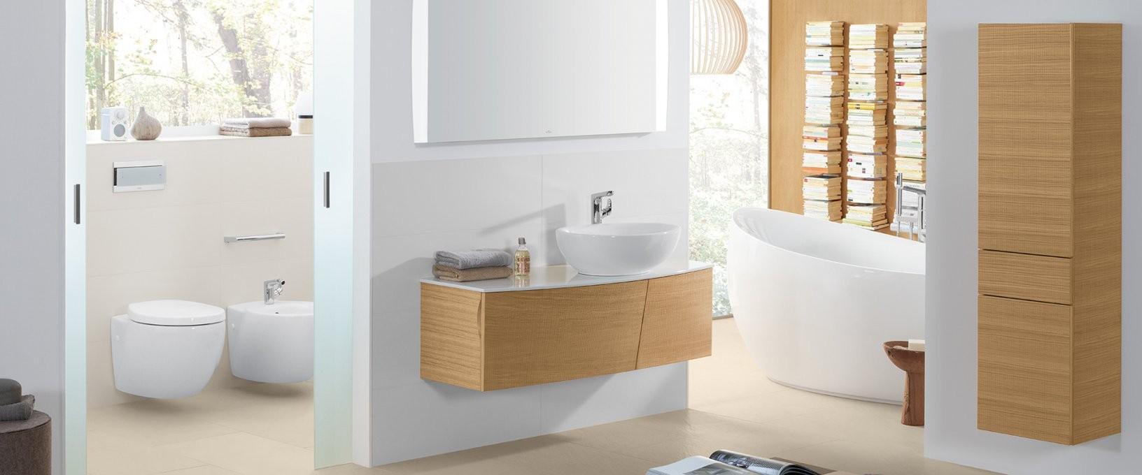 Kollektion Aveo New Generation Von Villeroy & Boch – Natürliche von Villeroy Und Boch Bad Waschbecken Bild