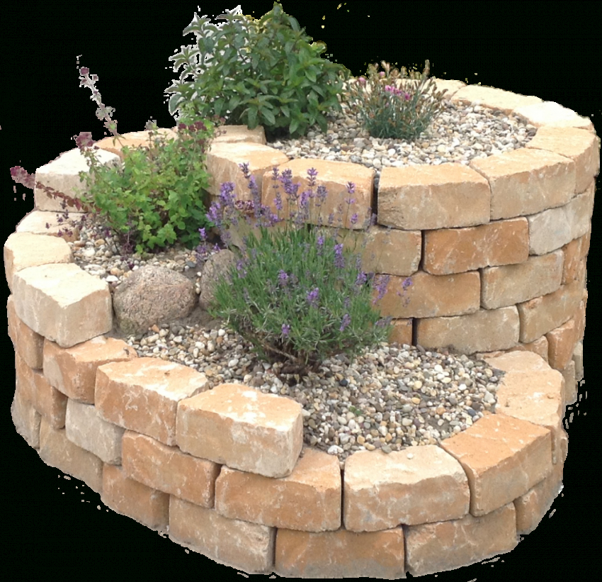Kräuterspirale Bausatz Stein  Natursteinonlinekaufen von Steine Für Garten Kaufen Bild