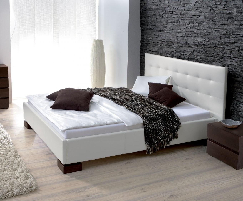 Lederbetten Mit Bettkasten  Betten Aus Leder Günstig von Polsterbett Leder 140X200 Bild