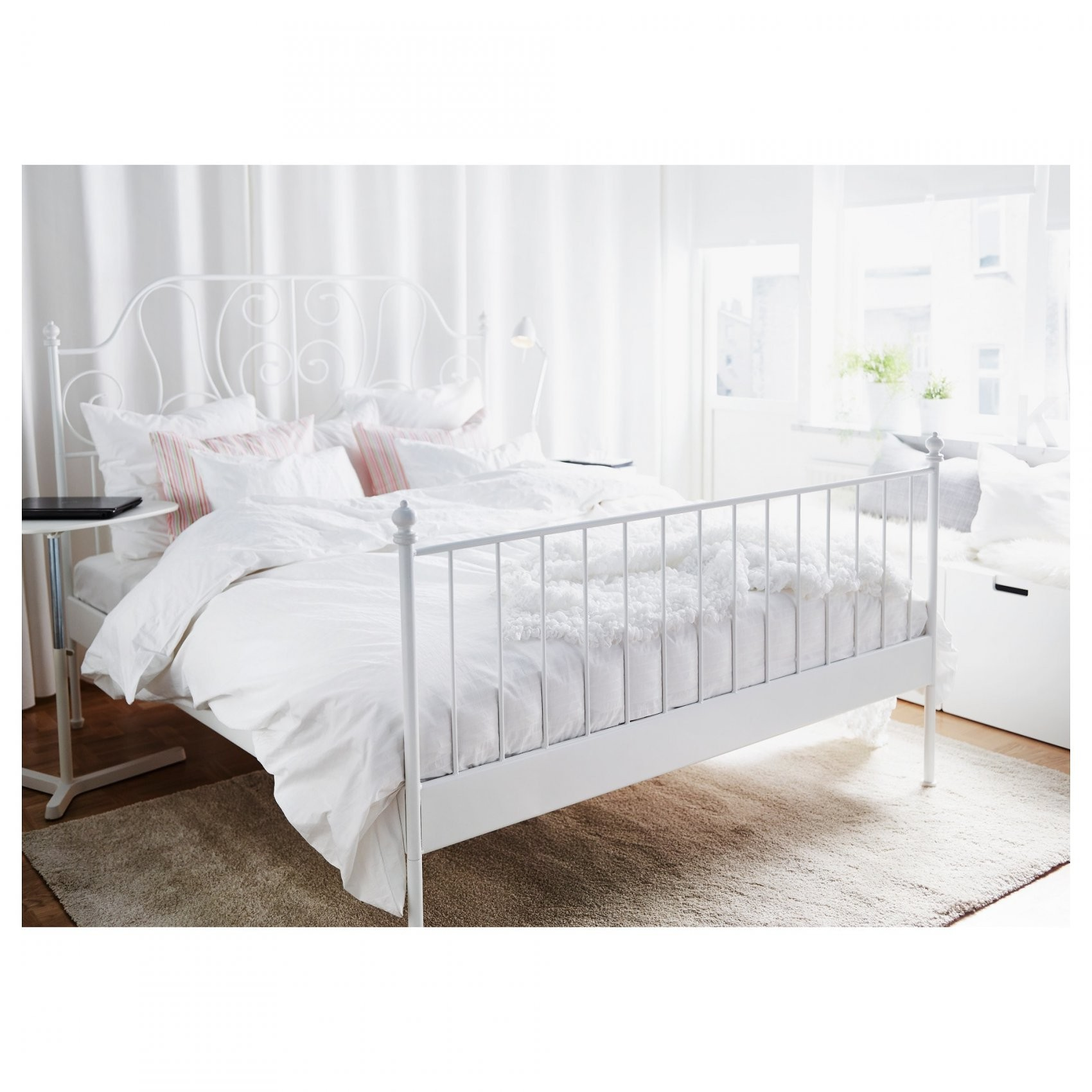Leirvik Bedframe  160X200 Cm   Ikea von Ikea Bettgestell 160X200 Photo