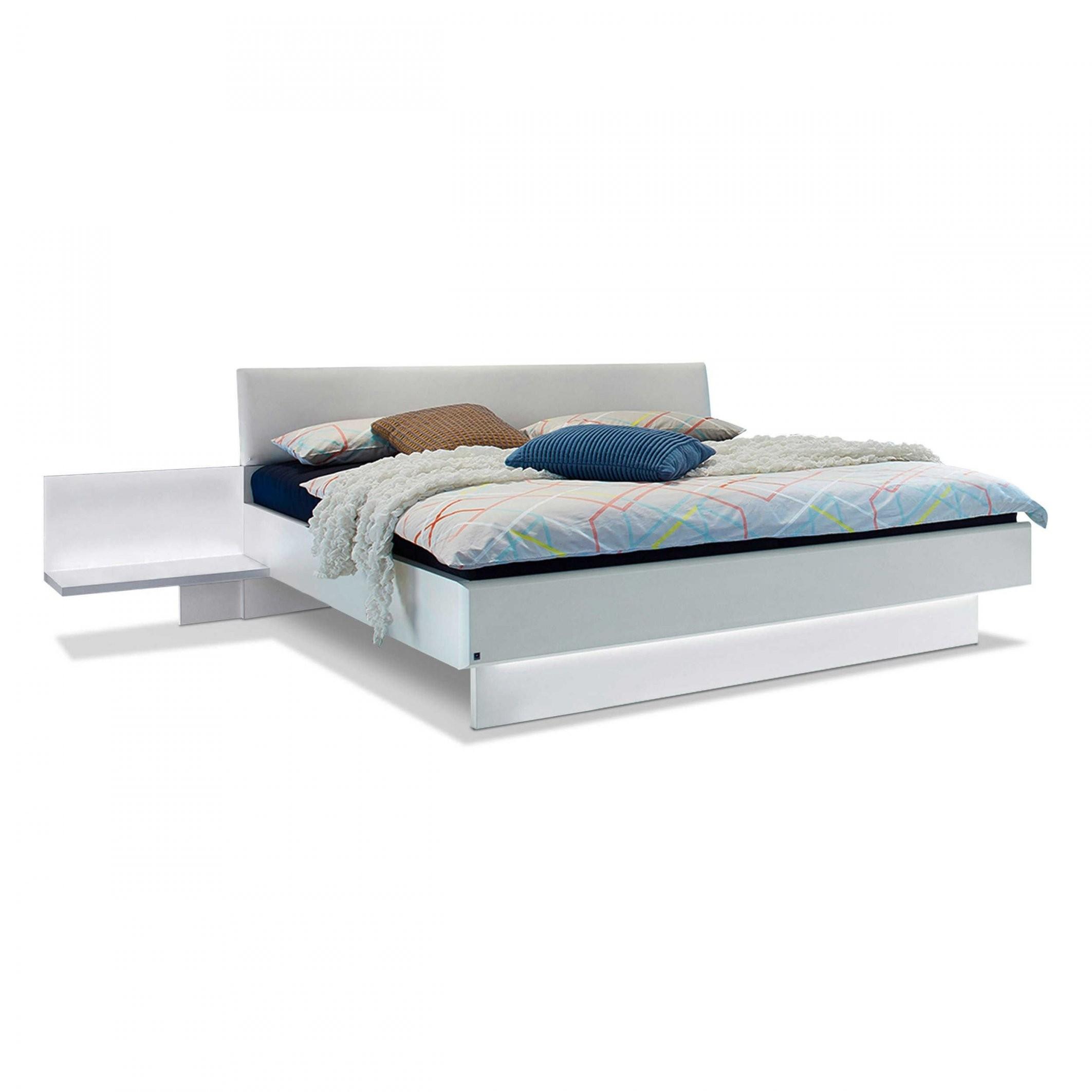 Leonardo Living Bett Mit Nachttischen Dream 160 X 200 Cm A+ Weiß von Bettgestell Weiß 160X200 Photo