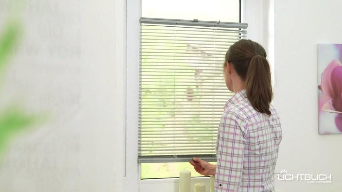 Lichtblick Jalousie Klemmfix Top Ohne Bohren Verspannt von Fenster Jalousien Innen Fensterrahmen Photo
