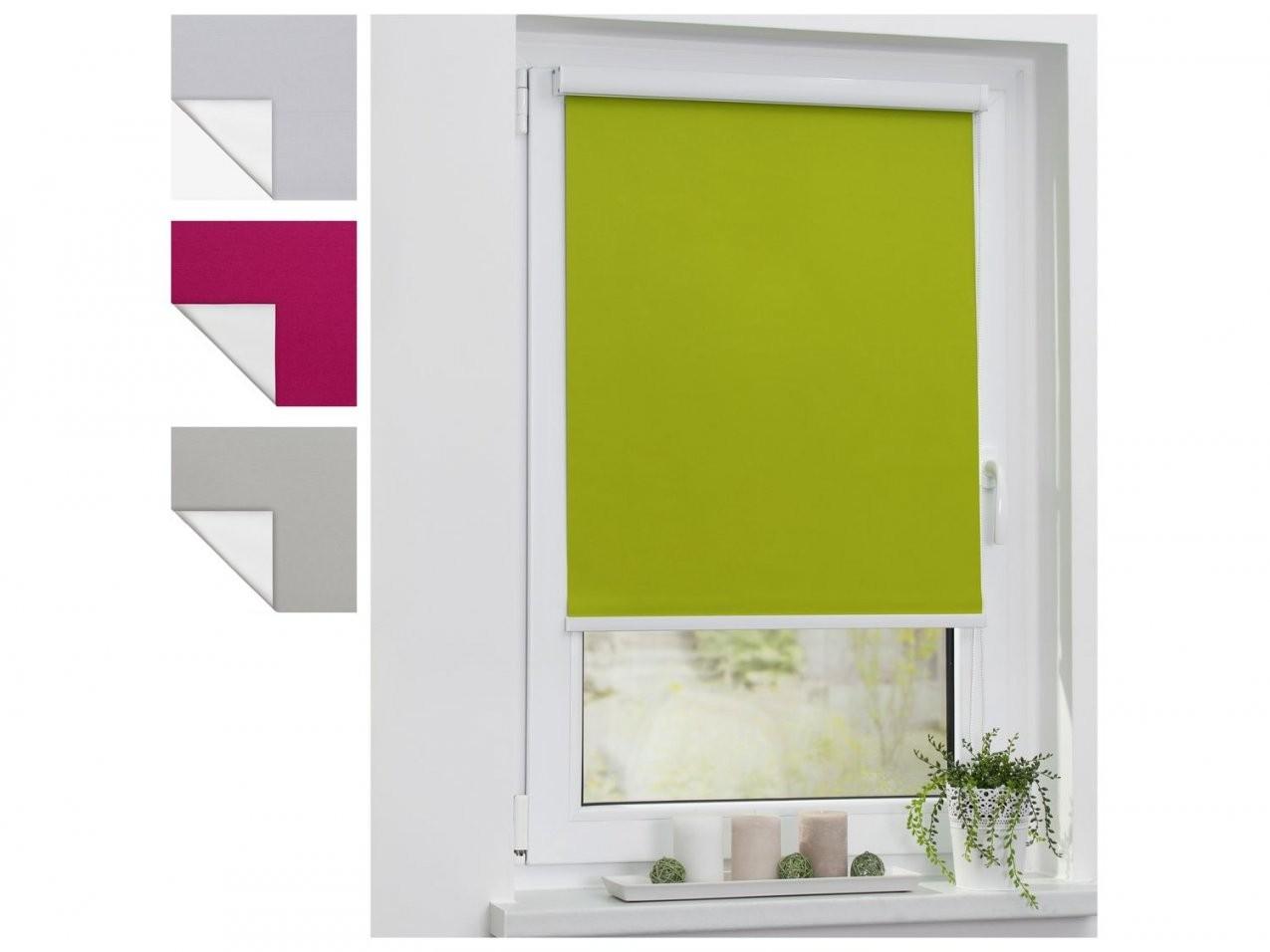 Lichtblick Thermorollo Klebfix Mit Kassette Ohne Bohren von Fenster Rollos Innen Verdunkeln Photo