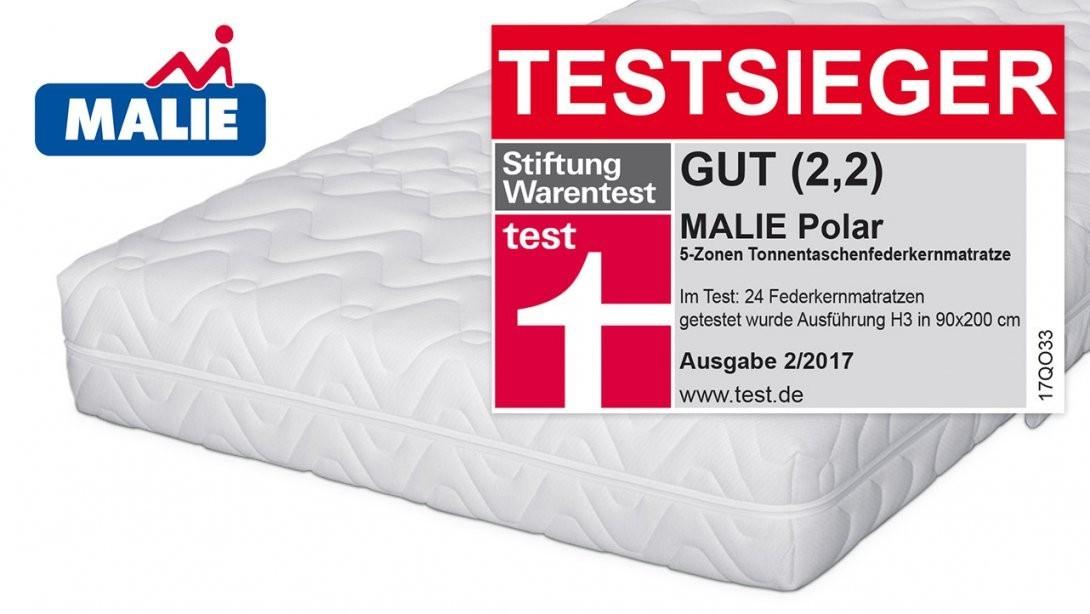 Malie Taschenfederkernmatratze Polar Wird Testsieger Bei Stiftung von Bett Matratzen Test Photo