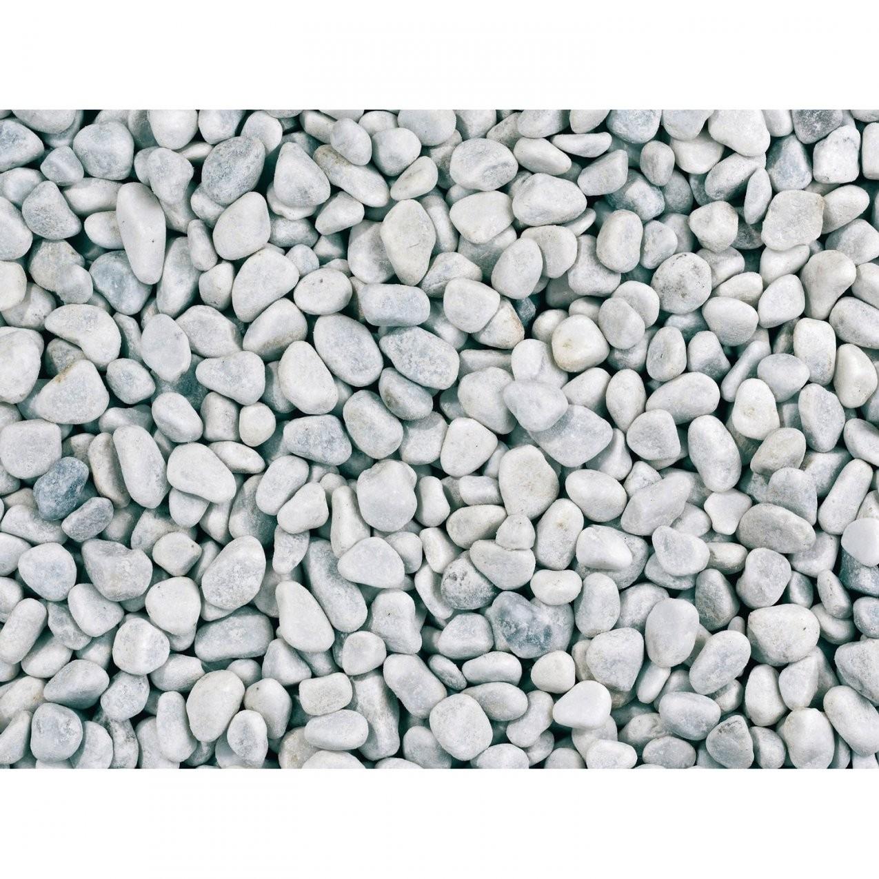 """Marmorkies """"carrara"""" Weiß 8 Mm  16 Mm 15 Kg Sack Kaufen Bei Obi von Obi Garten Steine Photo"""