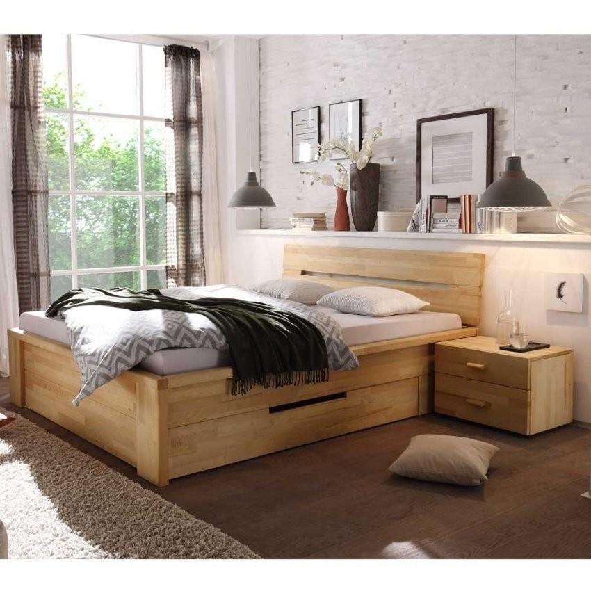 Massives Holzbett Vergoma Mit Schubladen  Wohnen von Bett Mit Schubladen 180X200 Bild