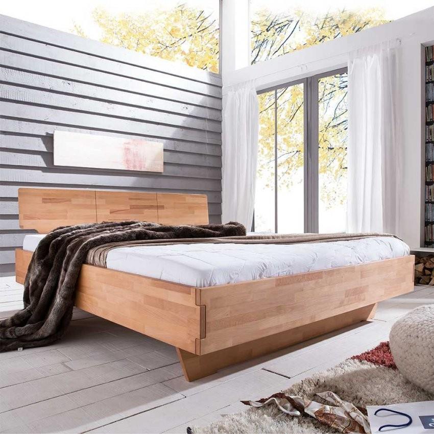 Massivholz Bett Masculino Mit Komforthöhe  Pharao24 von Bett 200X200 Komforthöhe Bild