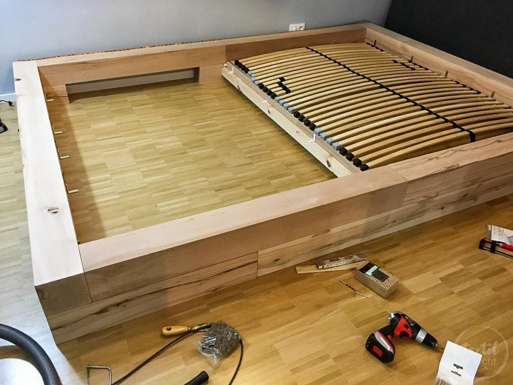 Massivholz Bett Selber Bauen ]  Massivholz Bett Selber Bauen von Bett Selber Bauen 180X200 Photo