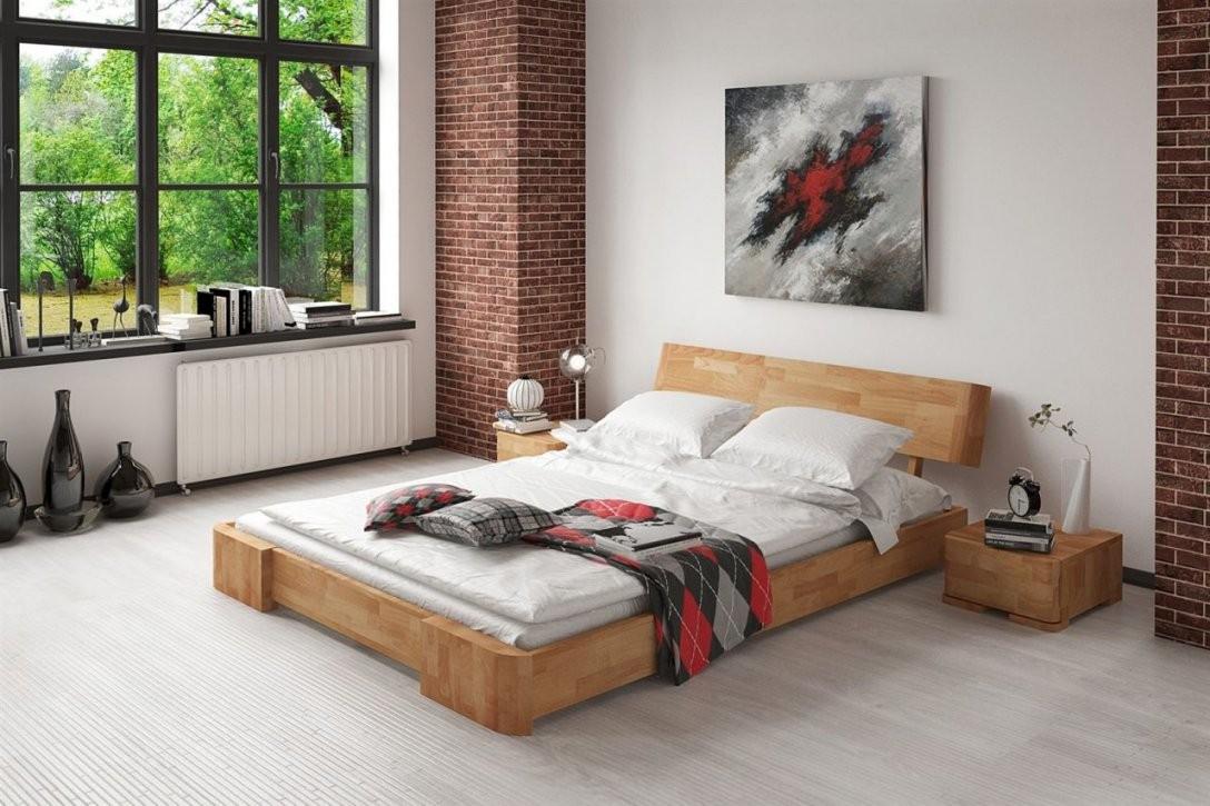 Massivholzbett Bett Schlafzimmerbett Mesa Eiche Massiv 180X200 Cm von Bett Eiche Massiv 180X200 Photo