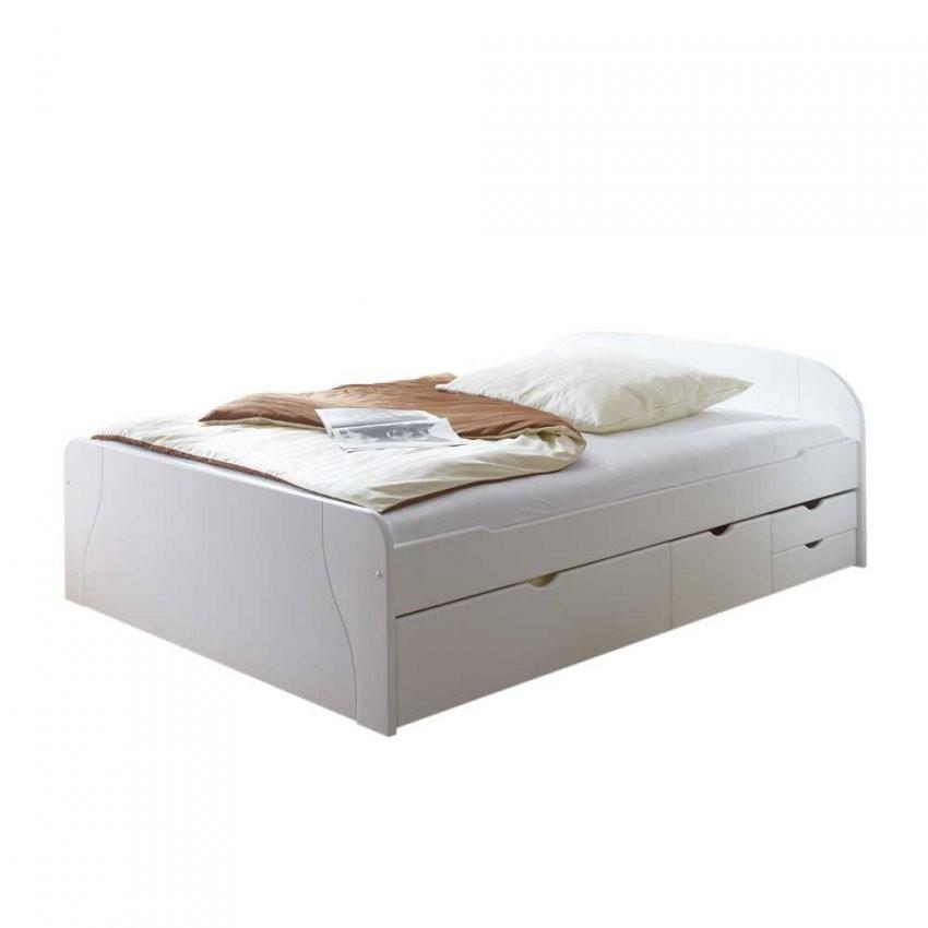 Massivholzbett Boplara Mit Schubladen von Weißes Bett Mit Schubladen Photo