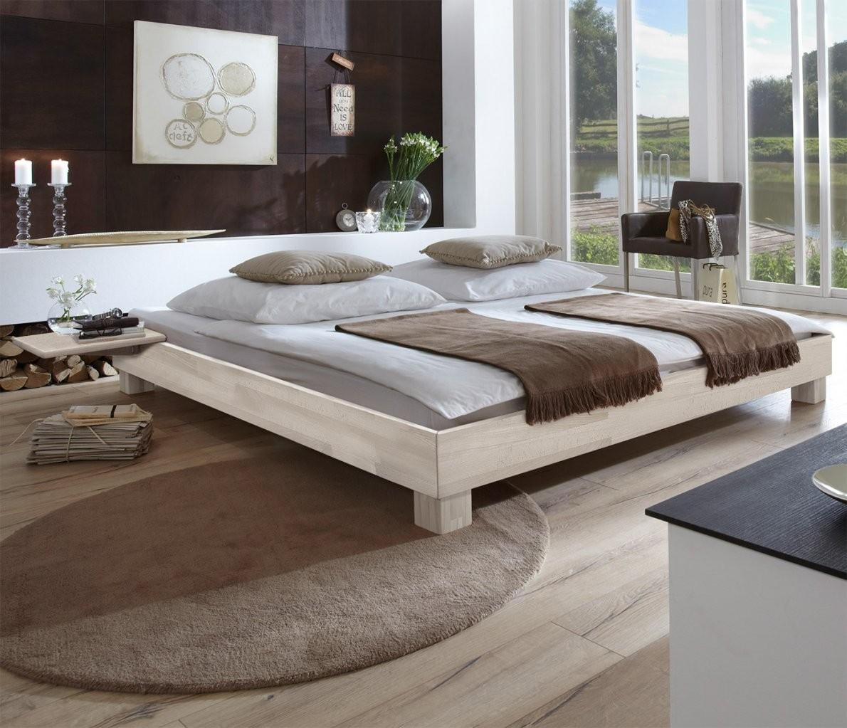 Massivholzbett In Übergrößen Erhältlich  Liege Alicante von Bett Weiß 140X200 Günstig Photo