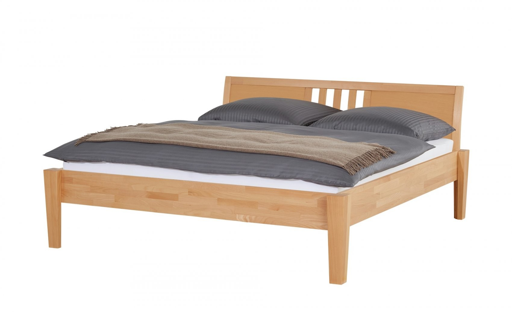 Massivholzbettgestell 140X200  Buche Timber  140 Cm Buche von Bettgestell Buche 140X200 Bild