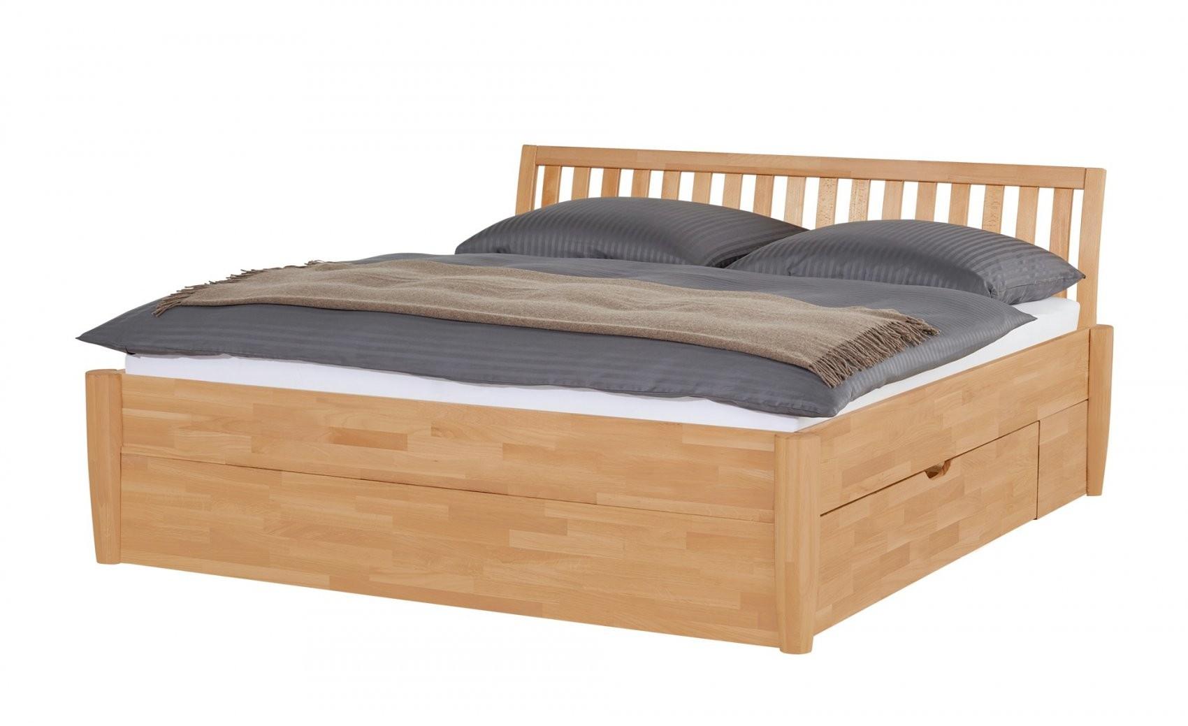 Massivholzbettgestell 160X200  Buche Timber  160 Cm Buche von Bett 160X200 Massivholz Bild