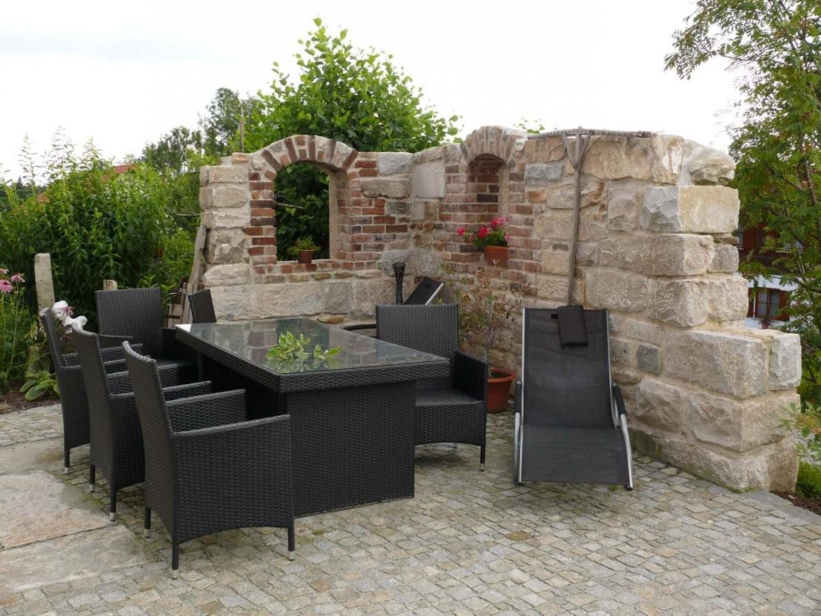 Mauertrockenmauerstein  Gartengestaltunggartenbaureischl von Garten Mauern Steine Bild