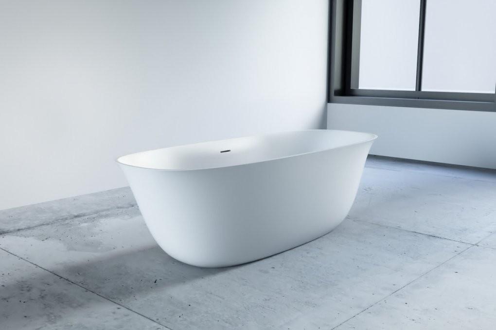 Mineralguss Badewanne Freistehend  One Bath von Günstige Freistehende Badewanne Bild