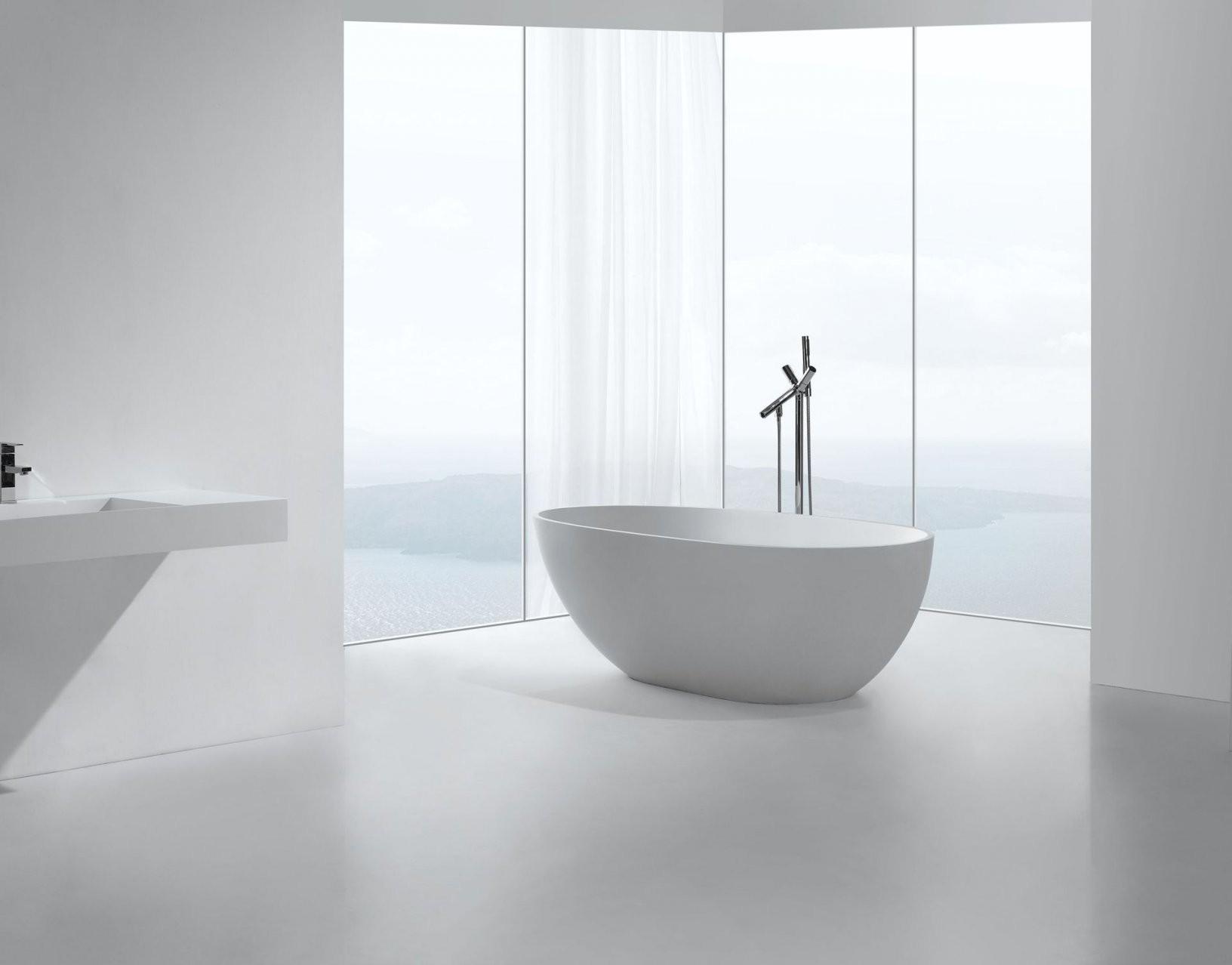 Mineralgussbadewanne Ladilo (Freistehend)  Glasdeals von Freistehende Badewanne Preis Photo